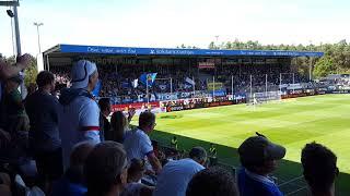 SV Sandhausen - Hamburger SV Torjubel ( 12.08.18 )