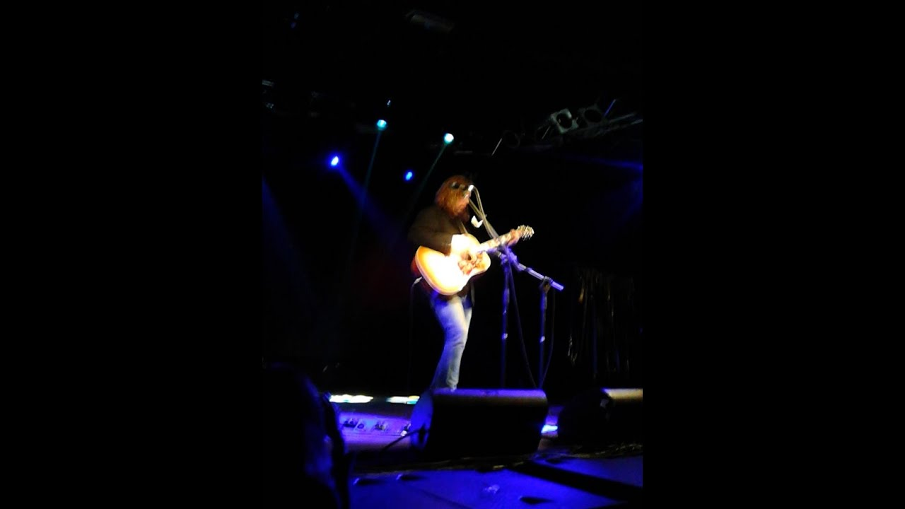 Rich Robinson When I Paint My Masterpiece Acoustic Rarelive