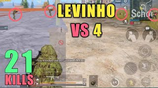 How Could I Survive This | Solo Vs Squad | PUBG Mobile