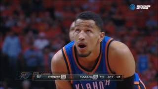 Andre Roberson, scared to shoot free throws, runs away from intentional foul