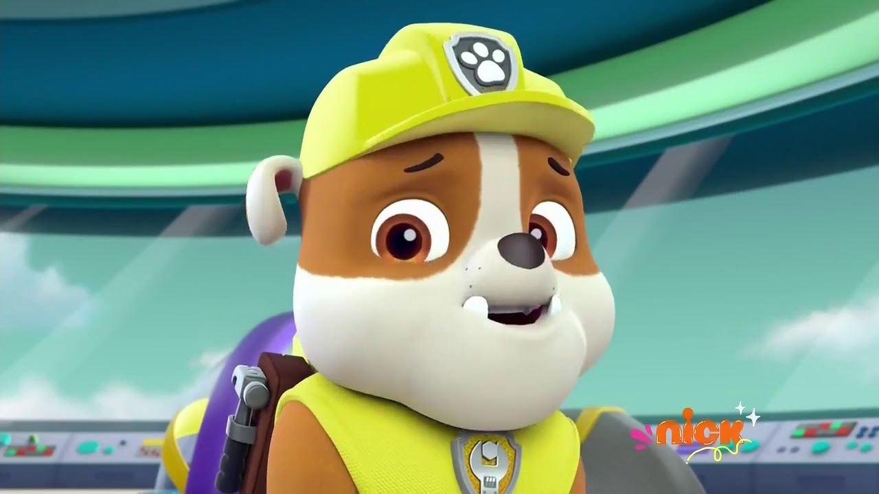paw patrol rubble stomach growling 6  youtube