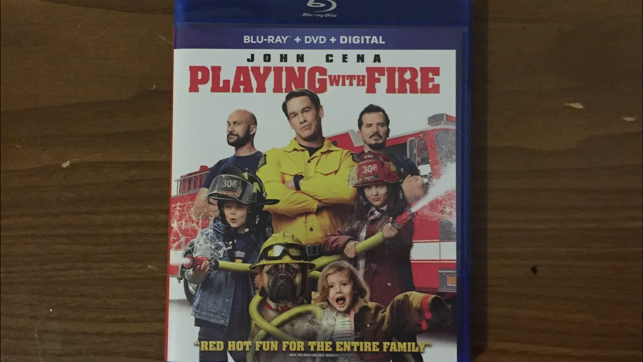 Playing With Fire (2019) Blu-ray Unboxing