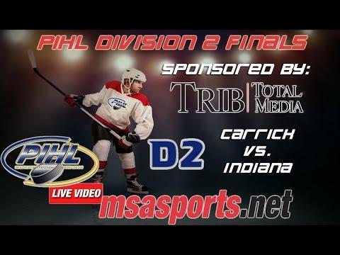 MSA Sports / PIHL Division 2 - The Finals:  Carrick vs. Indiana 3-19-15
