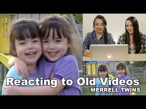Reacting to Old Videos - Merrell Twins