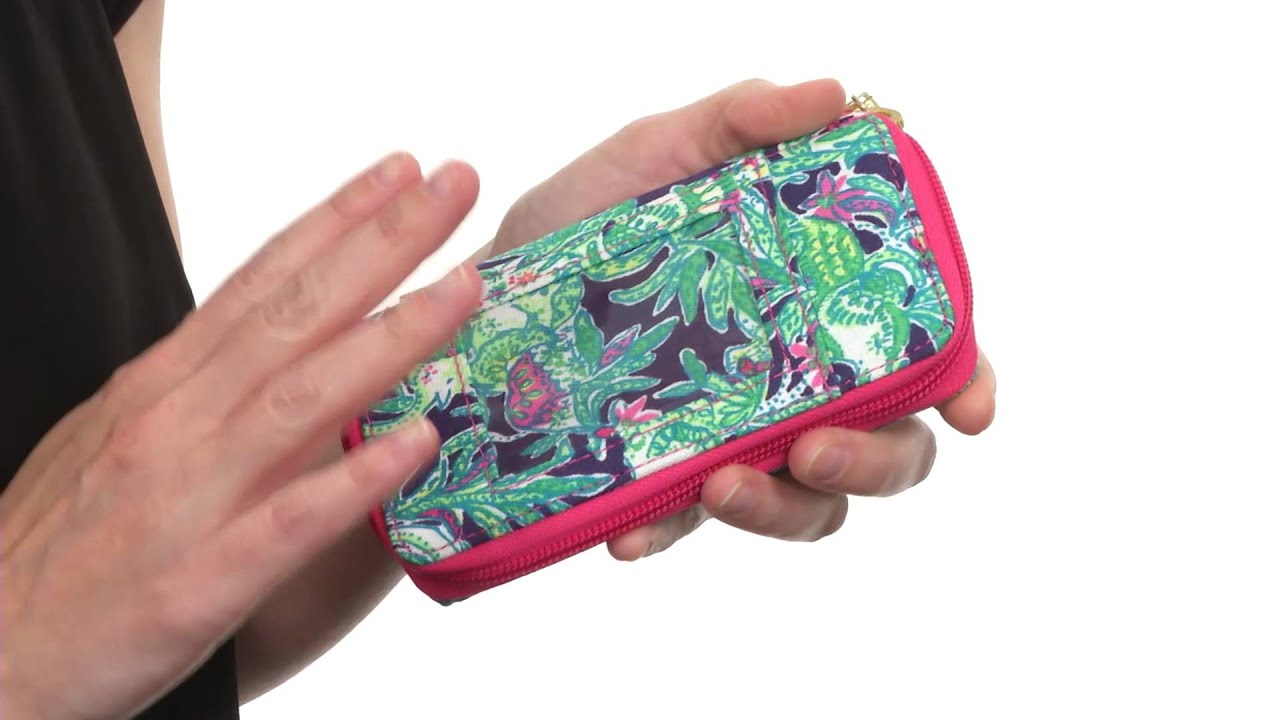 Lilly Pulitzer Carded ID Smart Phone Wristlet SKU:8506909