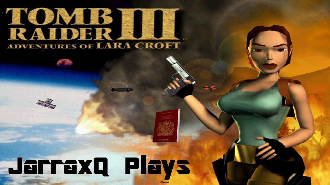 Tomb Raider 3 1998 Opening Gameplay Youtube