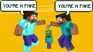 MONSTER SCHOOL : FAKE HEROBRINE - ACTION MINECRAFT ANIMATION