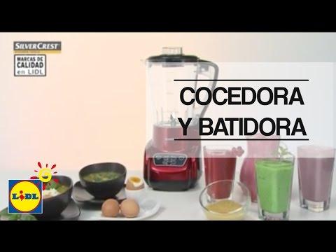 Cocedora y batidora silvercrest 1171 on go drama - Procesador de alimentos lidl ...