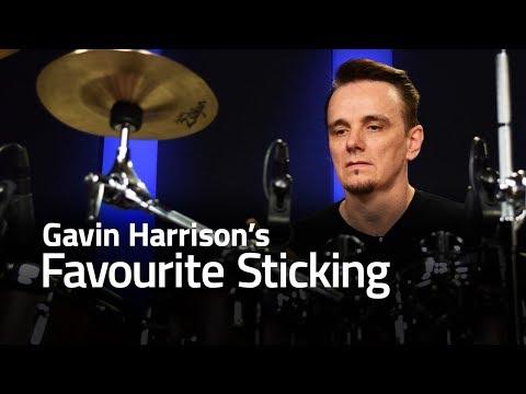 Gavin Harrison's Favourite Sticking (Drum Lesson)