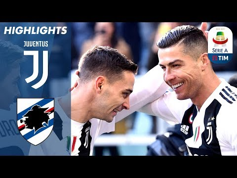Juventus 2-1 Sampdoria | Ronaldo Double as Unbeaten Run Continues! | Serie A