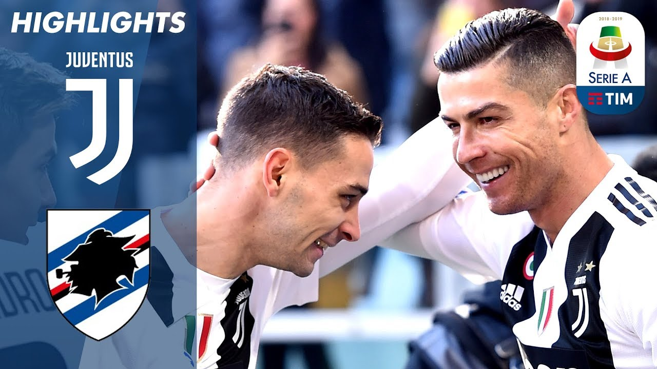 Juventus 2-1 Sampdoria | Ronaldo Double as Unbeaten Run Continues!