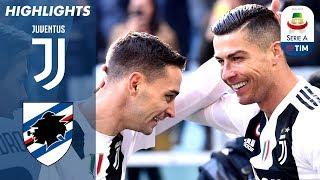 Juventus 2 1 Sampdoria | Ronaldo Double As Unbeaten Run Continues! | Serie A
