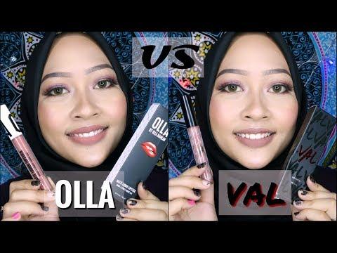 val-by-valerie-thomas-versus-olla-by-olla-ramlan-|-review-liquid-lipstick-selebritis-indonesia-#2