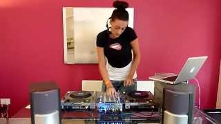 Queen of Clubs - Female DJ - Live Demo (Part 1 of 2)