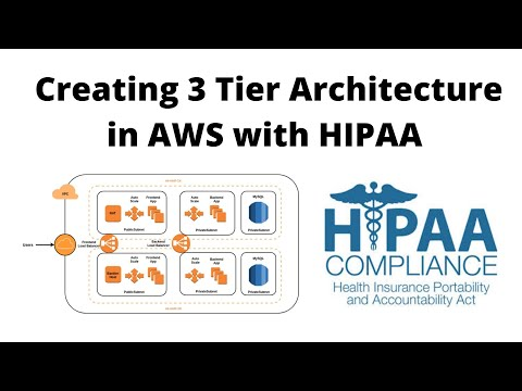 creating-3-tier-architecture-in-aws-with-hipaa-compliance-|-tamil-cloud