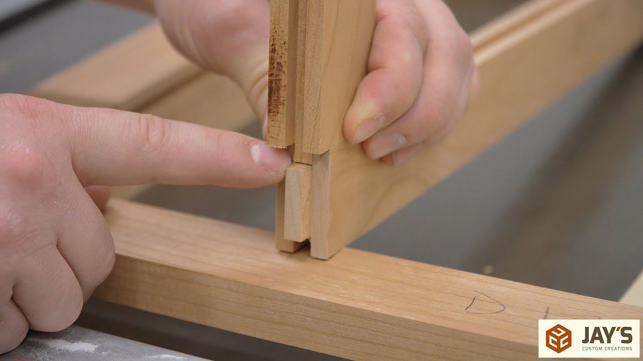 Tongue And Groove Joinery With A Router Table Or Saw Vanity Desk Dartboard Cabinet