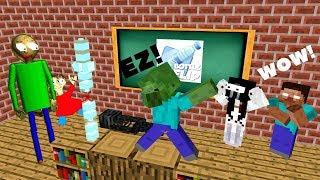 Monster School: BOTTLE FLIP CHALLENGE ALL EPISODES - Minecraft Animation