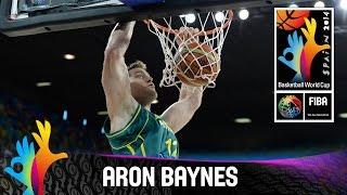 Aron baynes - best player (australia) - 2014 fiba basketball world cup
