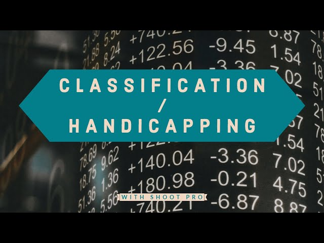 Classification | 3S Shooting Sports Software
