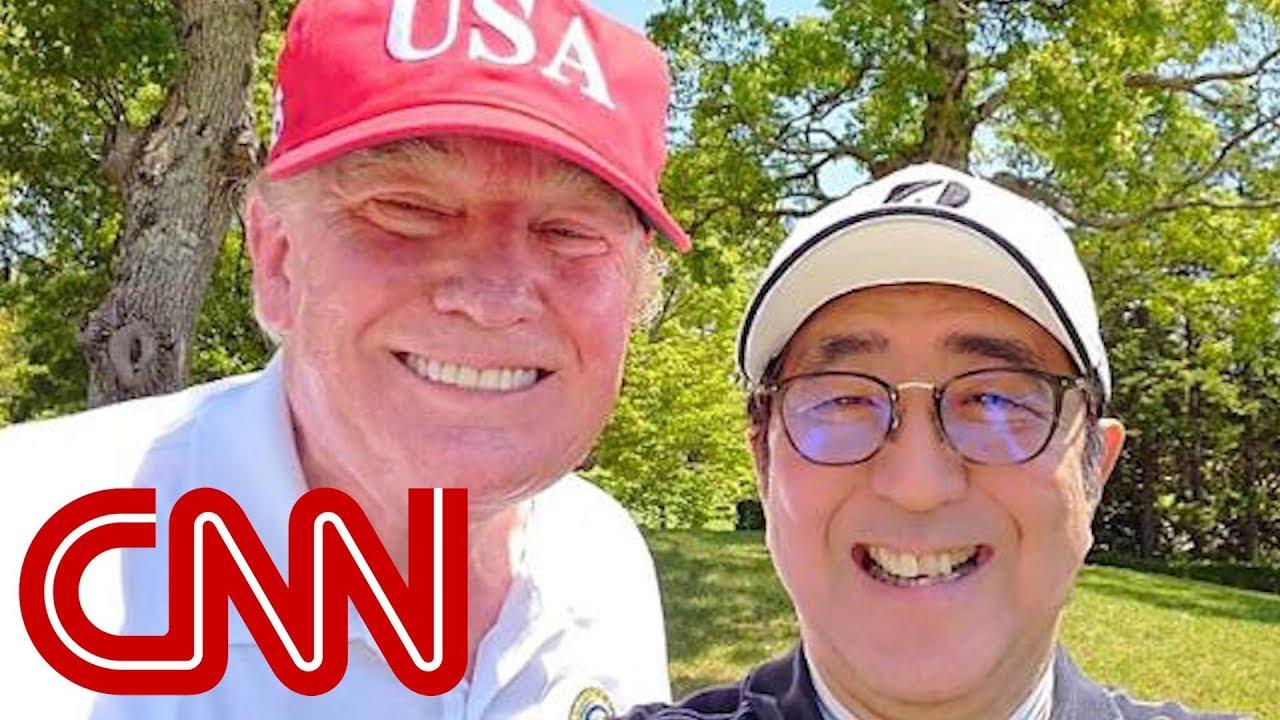 Japanese leader courts Trump amid North Korea tension