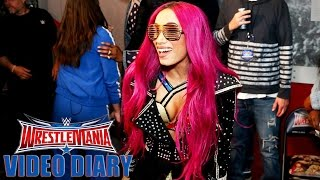 Follow Sasha Banks on the most important day of her career: WrestleMania Diary, April 3, 2016