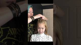 Two Buns At Home Kids Hairstyle Tips with Lindsey Phelps | Aveda