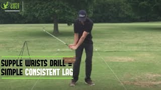 Easy Lag Golf Drill For Best Ball Striking