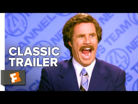 Anchorman: The Legend Of Ron Burgundy (2004) Trailer #1 | Movieclips Classic Trailers