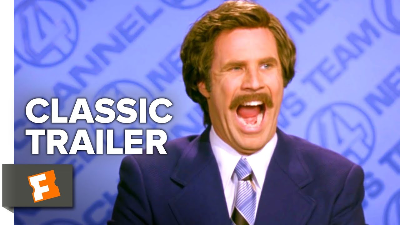 Download Anchorman: The Legend of Ron Burgundy (2004) Trailer #1 | Movieclips Classic Trailers