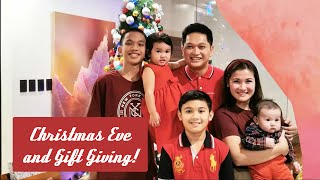 Gift Giving on Christmas Eve!! | Camille Prats