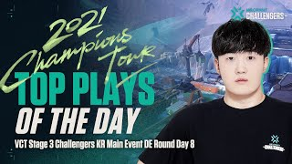 DFR hyeoni | Top Plays of the Day | Main Event Day 14 DE Round 07.30 | VALORANT Challengers KR