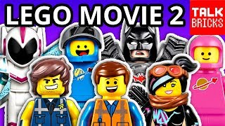 LEGO MOVIE 2 SETS REVEALED! 19 NEW SETS! Official Pictures & Full Breakdown! Unikitty! Sweet Mayhem!