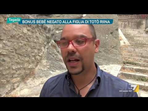 Bonus bebè negato alla figlia di Totò Riina