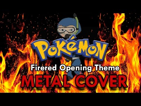 Pokemon FireRed - Opening Theme - METAL COVER!