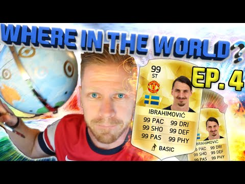 WHERE IN THE WORLD EP. 4 - CAN'T - STOP - ZLATAN!!! Fifa 16 Ultimate Team