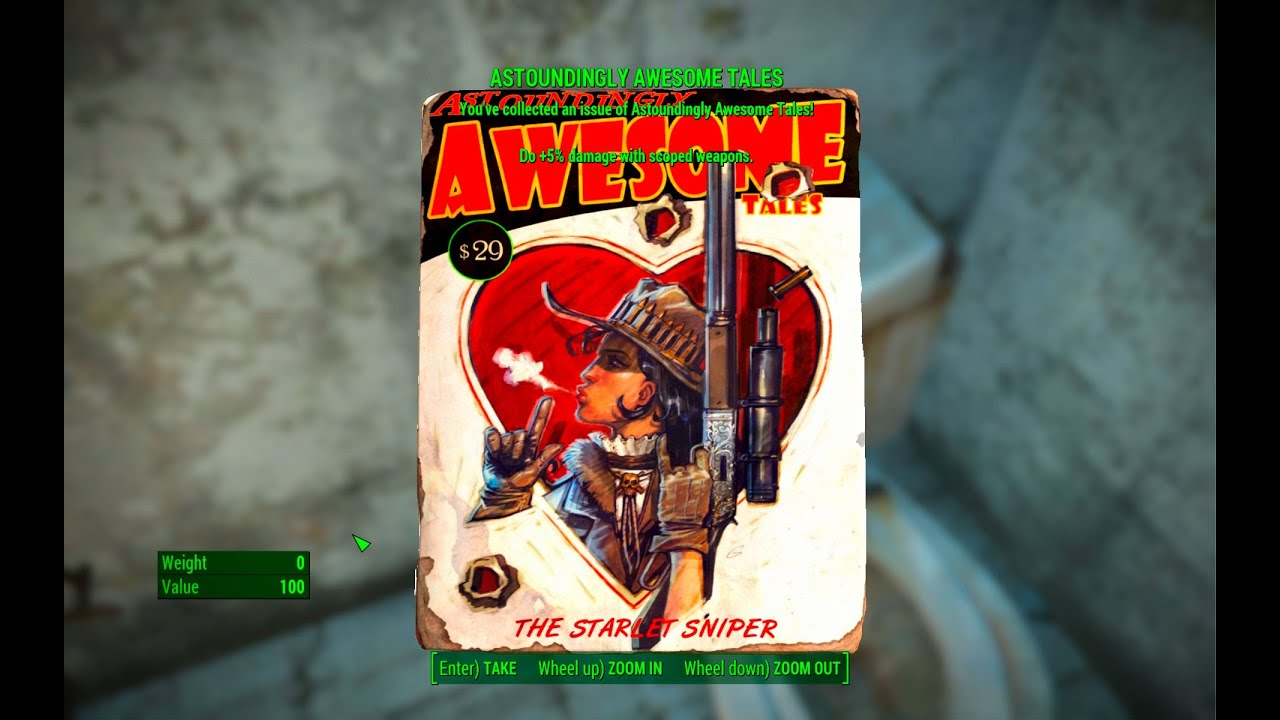 Astoundingly Awesome Tales Magazine Coast Guard Pier Fallout 4