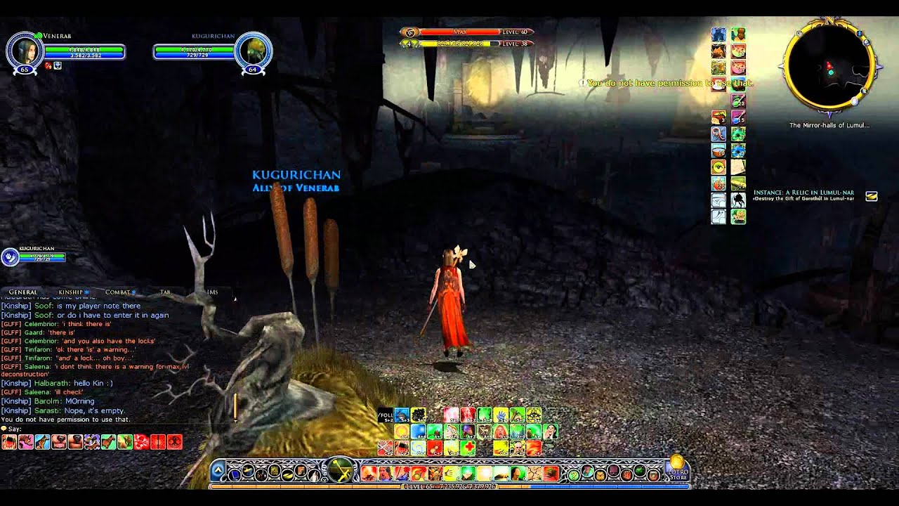 lotro how to find chaoters