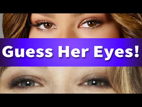 Guess The Disney Stars Eyes!