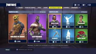 "FORTNITE BOUTIQUE From September 6Th Skin ""WAR MOLOSSE"" - ""CARTOUCHEUR"""