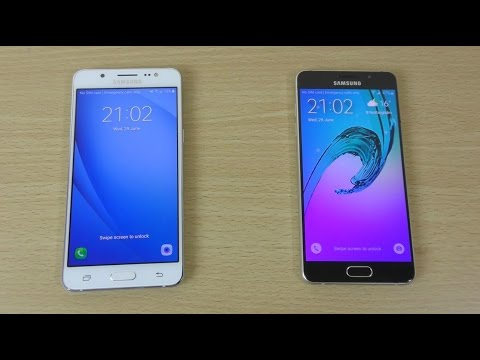 Samsung Galaxy J5 2016 vs A5 2016 - Speed Comparison!
