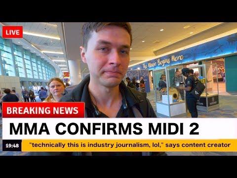 They announced MIDI 2.0