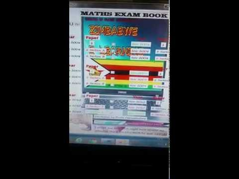 Zimbwe Maths Green Book Software