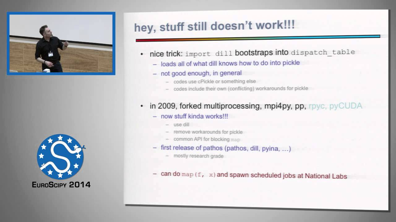 The failure of python object serialization | EuroSciPy 2014 | Michael  McKerns