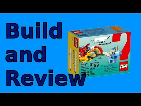 Lego What Rainbow Fun Is At The End Of The Rainbow? |  10401 Build And Review