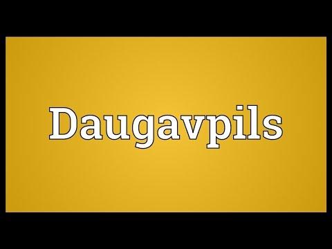 Daugavpils Meaning