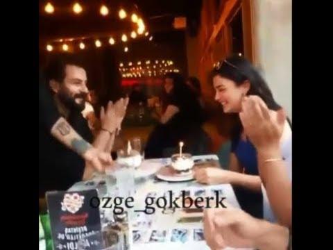 Yemin dizisi Özge Yağız(Reyhan) Doğum gününü Gökberle(Emirle)kutladı