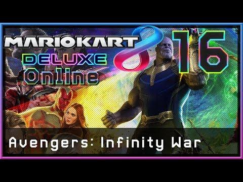Warum ich auf Infinity War gehypt bin! - Mario Kart 8 Deluxe Online 🏎️ #016
