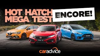 2019 Renault Megane RS v Honda Civic Type R & Ford Focus RS!