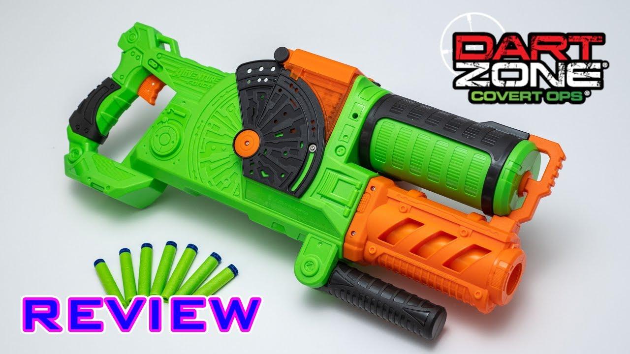 [REVIEW] Dart Zone Commandfire | HOPPER FED DART BLASTER!