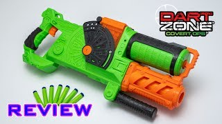 [REVIEW] Dart Zone Commandfire | HOPPER FED DART BLASTER!